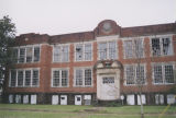 Front facade of the Tremont School in Selma, Alabama.