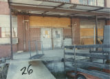 Loading ramp of the W. B. Davis Mill annex at 203 8th Street Northeast in Fort Payne, Alabama.