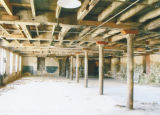 Interior of a building at Tallassee Mills at 1844 Old Mill Road in Tallassee, Alabama.