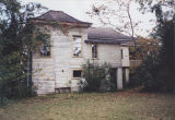 Rear view of the Watts-Knight House in Greenville, Alabama.