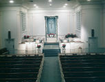 Interior of Covenant Presbyterian Church on Arden Road in Montgomery, Alabama.