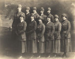 Staff of the Montgomery Motor Corps of the National League for Women's Service.