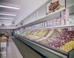 Produce section at the Kwik Chek store on Atlanta Highway in Montgomery, Alabama.