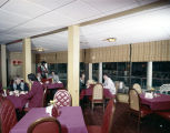 Dining room at one of the Holiday Inn branches in Montgomery, Alabama.