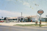 Esso gas station at the northeast corner of Norman Bridge Road and Buckingham Drive in Montgomery,...