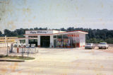 Esso gas station at 3328 Atlanta Highway in Montgomery, Alabama.