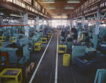 Interior of one of the Kershaw Manufacturing Company plants in Montgomery, Alabama.