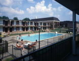 Pool at the Ramada Inn in Prattville, Alabama.