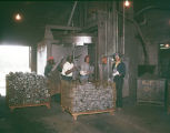 Employees at Robinson Foundry, Inc., probably in Montgomery, Alabama.