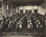Students in study hall at the Alabama Boys Industrial School at East Lake in Jefferson County,...