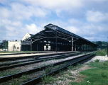 Train shed at Union Station in downtown Montgomery, Alabama.