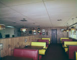 Interior of Ron's Krispy Fried Chicken in Prattville, Alabama.