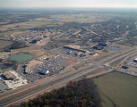 Aerial view of the Twin Oaks Shopping Center at the intersection of Eastern Boulevard and Vaughn...