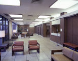 Waiting area at Baptist Medical Center on East South Boulevard in Montgomery, Alabama.