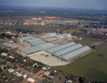 Aerial view of the Brockway Glass Company at 3480 Lower Wetumpka Road in Montgomery, Alabama.