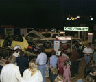Chevrolet display at Garrett Coliseum during the 1975 South Alabama Fair in Montgomery, Alabama.