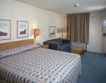 Room of the Hampton Inn at 1401 Eastern Boulevard in Montgomery, Alabama.