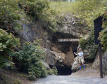 Entrance to DeSoto Caverns in Childersburg, Alabama.
