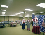 Patriotic bazaar at the Church of the Ascension at 315 Clanton Avenue in Montgomery, Alabama.