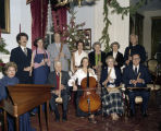 Church of the Ascension recorder choir at the Ordeman-Shaw House at 310 North Hull Street in...