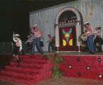 Performance during the El Domino Ball at Garrett Coliseum in Montgomery, Alabama.