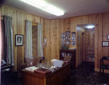 Office inside the Frank Leu Building at the corner of Bibb and Commerce Streets in Montgomery,...