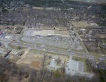 Aerial view of the Kmart store at 4041 Atlanta Highway in Montgomery, Alabama.