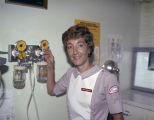 Mrs. D. Pilgrim, a nursing student at Jackson Hospital in Montgomery, Alabama.