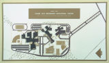 Drawing of the floor plan of the Cassie Leta Brewbaker Educational Center on on Bell Road in...