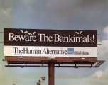 Billboard for Max Federal Credit Union in Montgomery, Alabama.