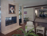 Living room in the home of Prince Khaled Bin Sultan at 3840 Antoinette Drive in Montgomery,...