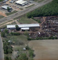 Aerial view of Sabel Steel Service, Inc., on Ross Clark Circle in Dothan, Alabama.