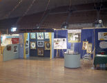 Montgomery Professional Photographers Association booth at Garrett Coliseum during the 1961 South...