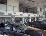 Showroom of the Youngblood-Perry Lincoln-Mercury dealership in Montgomery, Alabama.
