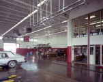Garage at the Youngblood-Perry Lincoln-Mercury dealership in Montgomery, Alabama.
