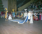 King and queen of the Krewe of the Athenians Ball at Garrett Coliseum in Montgomery, Alabama.