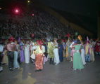 Couples dancing during the Krewe of the Athenians Ball at Garrett Coliseum in Montgomery, Alabama.