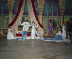 King and queen at the Krewe of the Athenians Ball at Garrett Coliseum in Montgomery, Alabama.