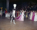 Jeannine Brightwell, queen of the Krewe of the Athenians Ball at Garrett Coliseum in Montgomery,...