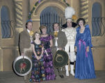 Guests at the Krewe of the Athenians Ball at Garrett Coliseum in Montgomery, Alabama.