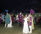 Couples dancing at the Krewe of the Athenians Ball at Garrett Coliseum in Montgomery, Alabama.