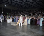 King and queen of the Krewe of the Athenians Ball at the Montgomery Civic Center in Montgomery,...