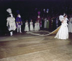 Nini Givhan, queen of the Krewe of the Athenians Ball at Garrett Coliseum in Montgomery, Alabama.