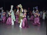 Couples dancing at the Krewe of the Athenians Ball at the Montgomery Civic Center in Montgomery,...