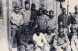 "African American soldiers in the Army unit of Herman ""Dick"" Loeb during World War II."