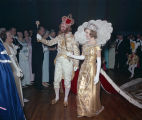 King and queen of the Krewe of the Phantom Host Ball at Garrett Coliseum in Montgomery, Alabama.