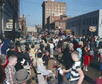 Krewe of the Phantom Host parade on Montgomery Street in Montgomery, Alabama.