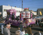 """Great Rulers of the World"" float in the Krewe of the Athenians parade on Montgomery..."