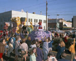 """Ivan the Terrible"" float in the Krewe of the Athenians parade on Montgomery Street in..."