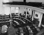 Copy photograph of the House of Representatives chamber at the Capitol in Montgomery, Alabama.